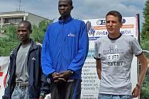 Stupně vítězů mužů - Žebrácká pětadvacítka 2008