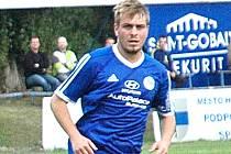 Pavel Aubrecht vstřelil jeden z gólů Hořovicka.