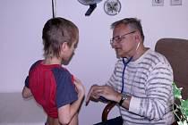 Pediatr a bývalý primář dětského oddělení berounské nemocnice Vladimír Kasl