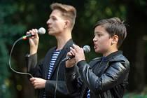 Duo MAFI koncertovalo v liteňském zámku.
