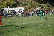 Na utkání I. A třídy mezi Komárovem a Podlesím si našlo cestu 240 diváků.