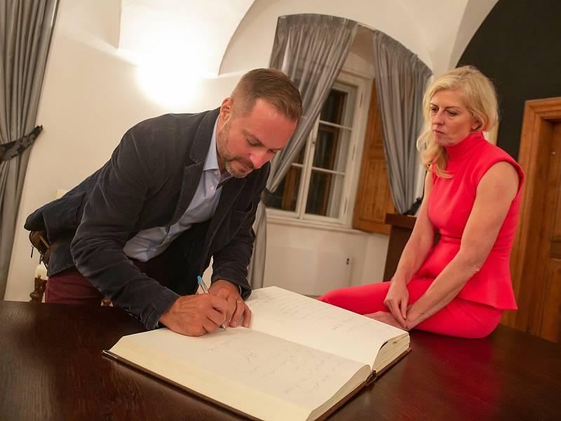 Ředitelka neziskové organizace Zámek Liteň Ivana Leidlová.