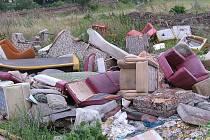 Občané jsou zděšeni, kde se velkoobjemový odpad ocitl.