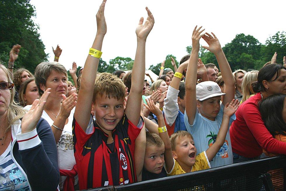Na festivalu se bavili i nejmladší návštěvníci