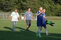 O přesné zásahy se podělili Jan Mojdl, Daniel Klimeš a Musa Ansuma. Diváci byli spokojeni.