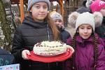Z návštěvy dětí ze školní družiny ZŠ Beroun - Závodí u medvědích kamarádů.