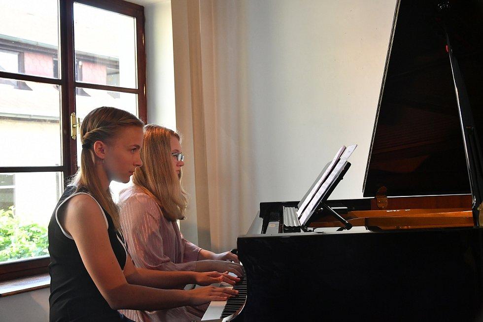Absolventský koncert v ZUŠ Václava Talicha Beroun.