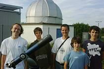 Členové kroužku Hvězdárny Žebrák