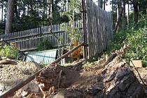 Stromy opět ohrožovaly obyvatele Suchomast