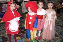 Děti v mateřince slavily karneval