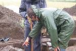 Archeologický výzkum u Suchomast