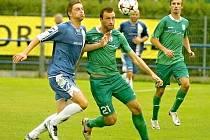 Martin Šlapák (v modrém) vyrazí v neděli do Jiren