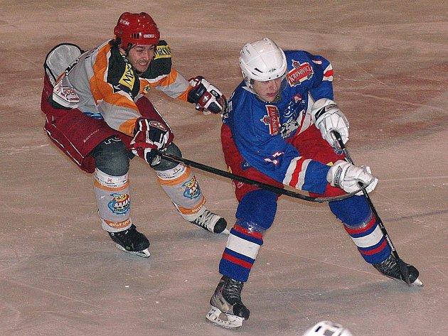 Králodvorští hokejisté prohráli v prvním utkání play-off se Slaným 0:3