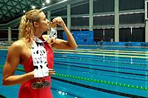 Plavkyně a policistka Lenka Rendlová: Navíc neznám lepší lék na dnešní shon a stres, než si vyplavit pár endorfinů.