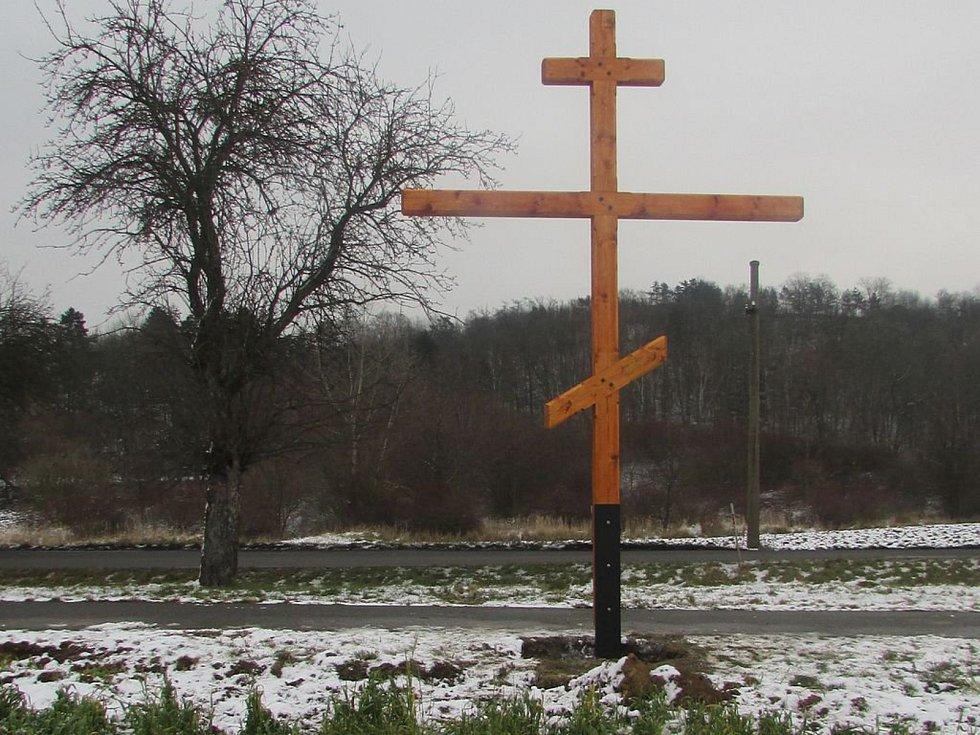 Takto vypadal kříž v únoru letošního roku.