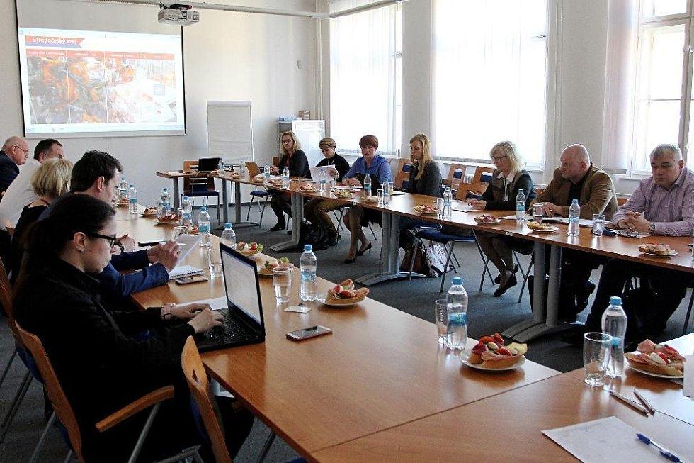 Setkání krajských radních pro oblast životního prostředí v Praze.