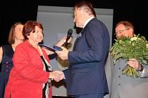Z předávání Cen města Beroun 2017.