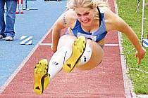 Berounské atletky startovaly v Třebíči