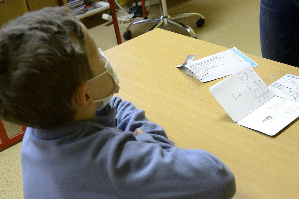 Děti v ZŠ Komárov dávaly pozor.