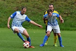 Fotbalisté domácí Čechie těsně zdolali Freyburg Trubín.