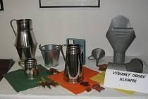Výstava prezentovala práce žáků všech oborů školy