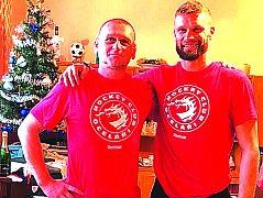 Ještě o Vánocích nevěřili Miroslav Porsch s Martinem Růžičkou, že se na olympiádu podívá. Teď hraje o medaili!