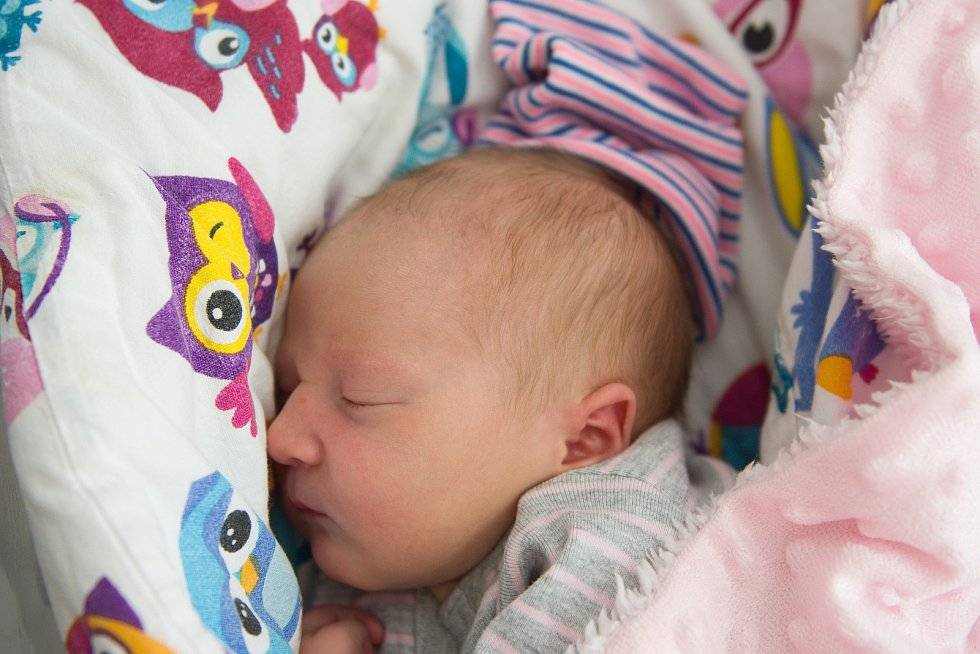 Karin Růžková z Kostomlat nad Labem se narodila v nymburské porodnici 8. května 2021 v 15.53 hodin s váhou 3420 g a mírou 49 cm. Z prvorozené holčičky se radují maminka Petra a tatínek Vladimir.