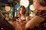 Natáčení filmu Chyby v berounské restaurace Blackdog.