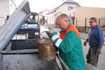 Víkendový sběr odpdu zajistily pro občany technické služby města