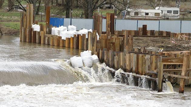 Berounka se drží pod prvním povodňovým stupněm