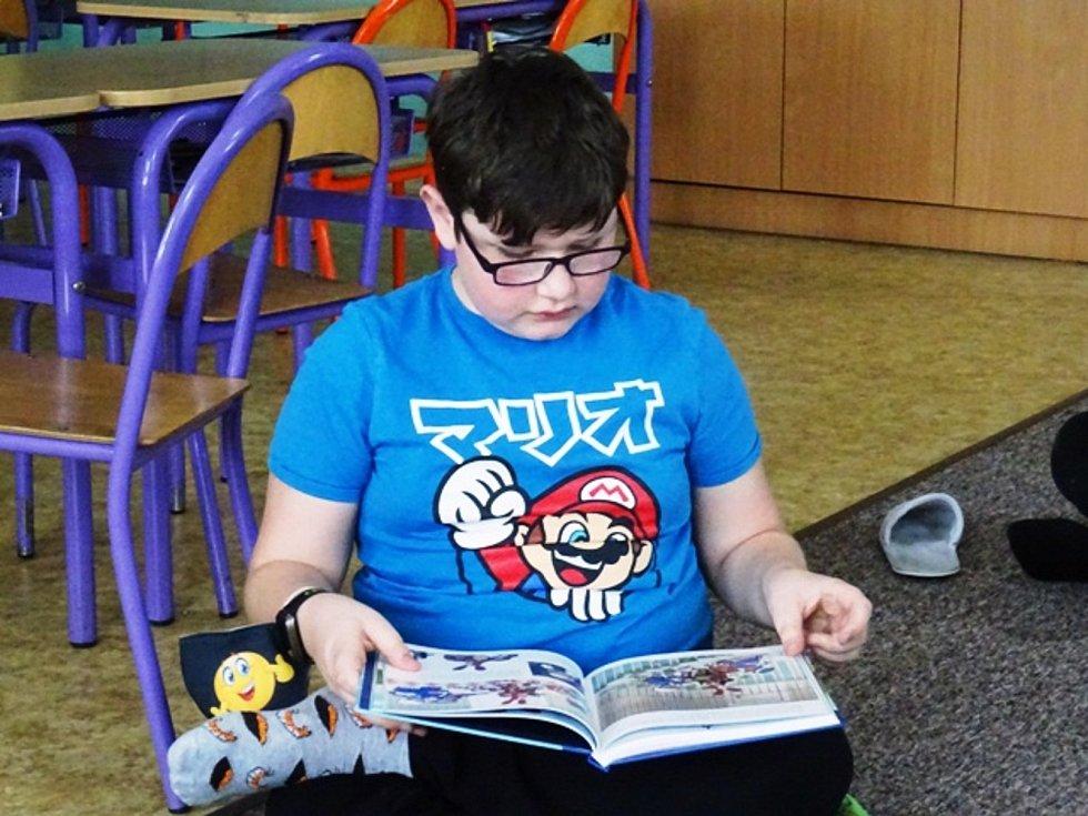 Týden čtení dětem ve školní družině Beroun - Závodí.