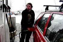 Čerpací stanice zdražovaly pohonné hmoty.