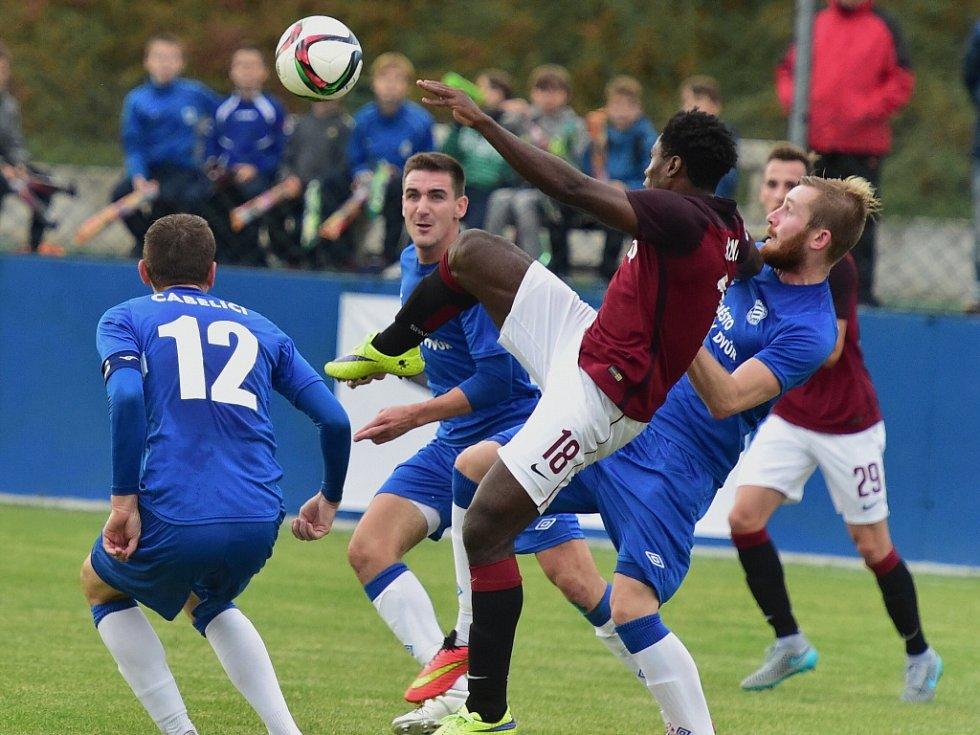 FK Králův Dvůr - AC Sparta Praha 1:1, pen. 4:5; 3. kolo MOL Cupu; 23. září 2015