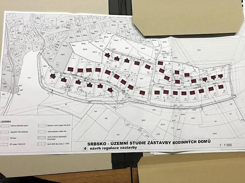 Urbanistická studie počítá s 38 rodinnými domy.