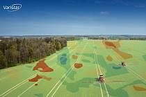 Technologie využívá aktuální (a velmi detailní) data ze satelitních snímků.