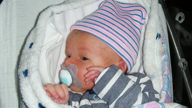Manželům Pavlíně a Josefovi z Hostomic se narodilo první miminko, syn Martínek.