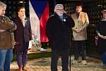 Připomínková akce k 17. listopadu 1989 na Tetíně.