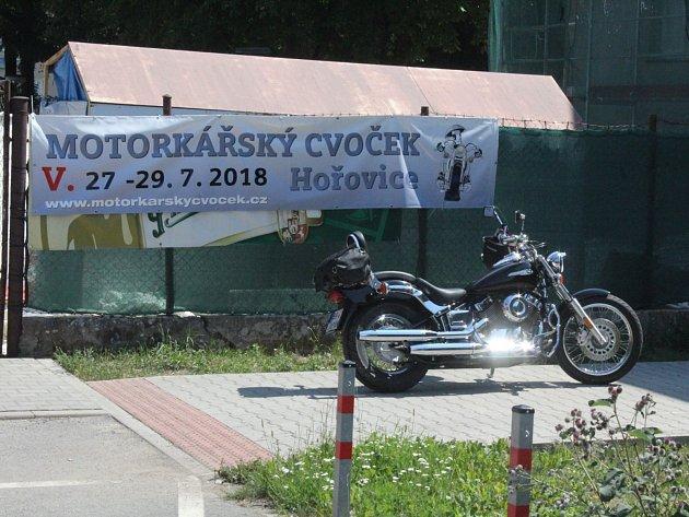 V Hořovicích se sešli motorkáři.
