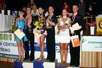 Velká cena města Berouna, taneční soutěž ve sportovním tanci