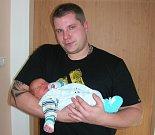 Pavel Vrňata se narodil na první svátek vánoční, 25. prosince, vážil 3,02 kg a měřil 49 cm. Maminka Johana Bárková a tatínek Pavel Vrňata si prvorozeného synka odvezou z porodnice domů do Cerhovic.