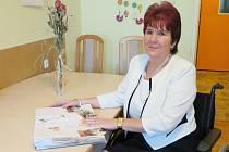 Předsedkyně Svazu tělesně postižených Hořovice Jarmila Gruntová