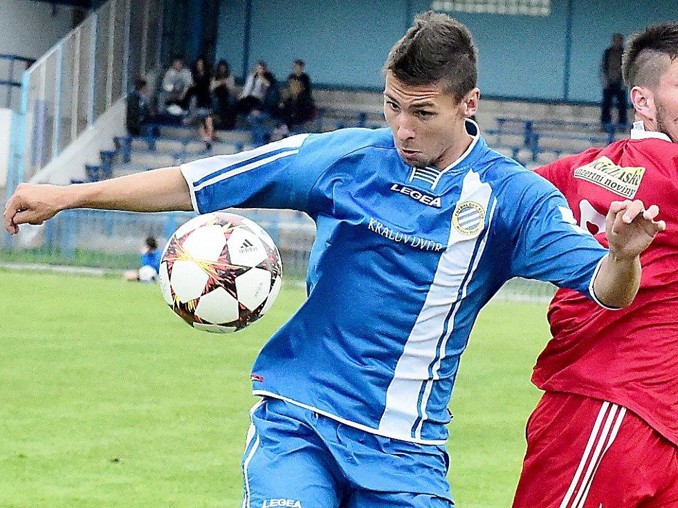 Patrik Brandner dal gól v Převýšově.