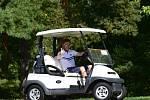 Z mistrovského turnaje golfového klubu v Berouně.
