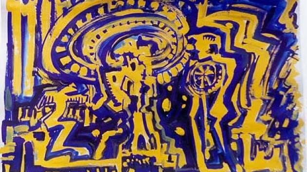 Jedno z děl minulého roku soutěže Malé Berounále