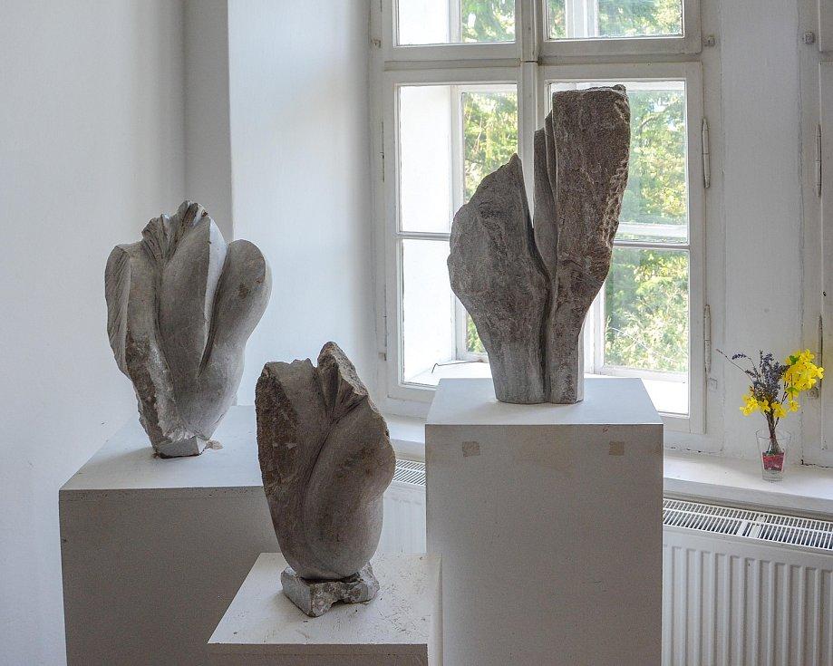 Výstava Jiřího Vydry.