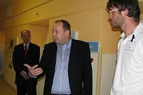 Zástupci Nemocnice Hořovice představili nově zrekonstruované prostory