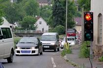 Tyršova ulice v Hořovicích