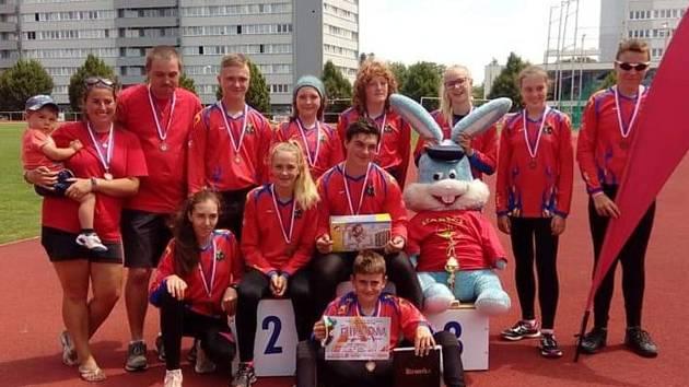 Zaječovská mládež vybojovala letos v krajském kole hry Plamen bronz.