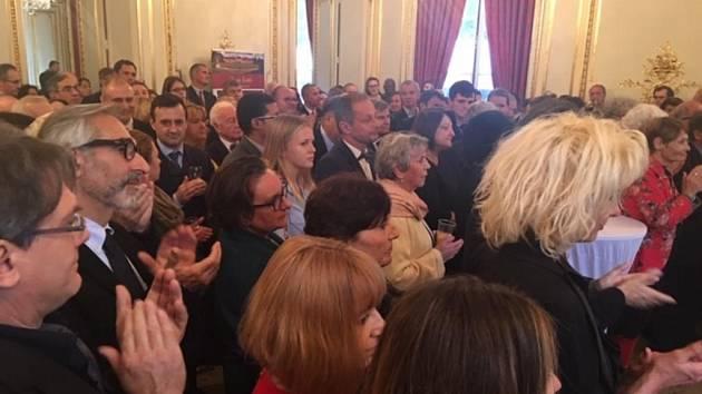 Oslavy stého výročí státnosti využili Středočeši k prezentaci kraje v Paříži.
