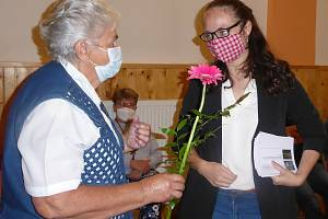 Setkání zájemců o historii obce Loděnice.